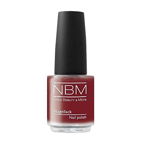 NBM Nagellack Nr. 160 coachella red, 14 g