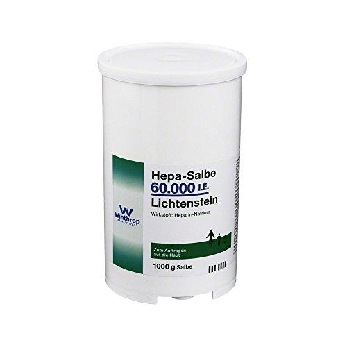 HEPA SALBE 60.000 I.E. Lichtenstein 1000 g