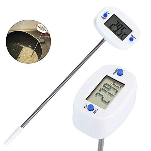 180 ° Drehnadel Digitales Thermometer Sofortablesung Öl Milch Kaffee Wasser Test Küche Kochthermometer Digital