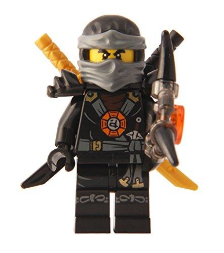 LEGO Ninjago: Minifigure - Cole Deepstone Minifig with Armor and Aeroblade
