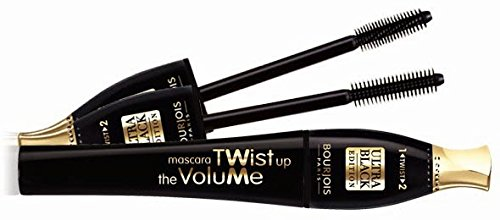 Bourjois Twist Up the Volume Ultra Black mascara 2 in 1