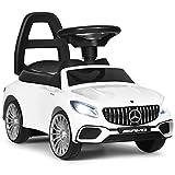 DREAMADE Rutschauto Mercedes Benz AMG, Rutscher Kinderauto mit Aufbewahrungsbox, Kinderfahrzeug mit...