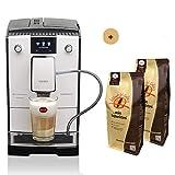 Nivona Kaffeevollautomat CafeRomatica NICR 779 Aktionsbundle mit 2 * 1 kg Kaffee/Espresso Mondo del Caffè