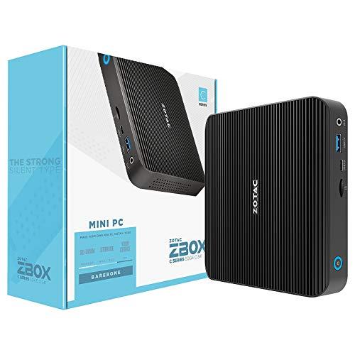 ZOTAC ZBOX CI341 NANO Barebone Intel N4100 2XDDR4-2400 M.2 SATA SSD SLOT DUAL GLAN WIFI BT DP/HDMI EU + UK PLUG