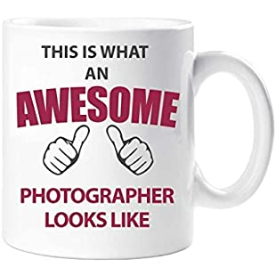 This Is What An Awesome Photographer Looks Like Mug Present Gift Cup Birthday Christmas:Peliculas-gratis