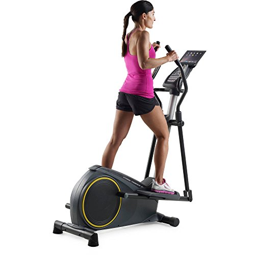 Gold's Gym Stride Trainer 350i Elliptical with iFit Bluetooth Smart Technology