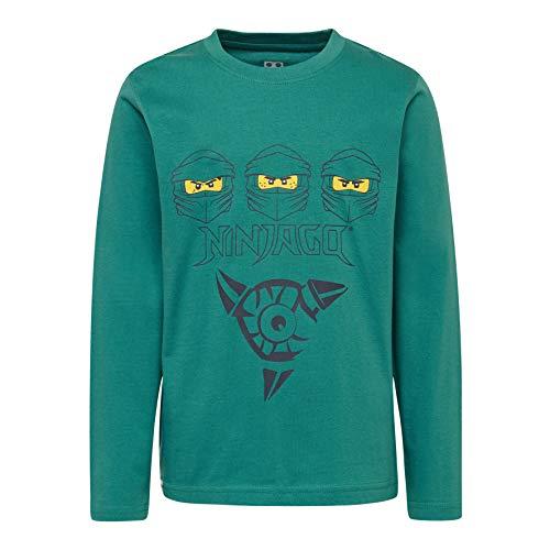 LEGO Jungen CM-50406-T Shirt L/S Langarmshirt, Türkis (Dark Turquise 770), (Herstellergröße: 104)