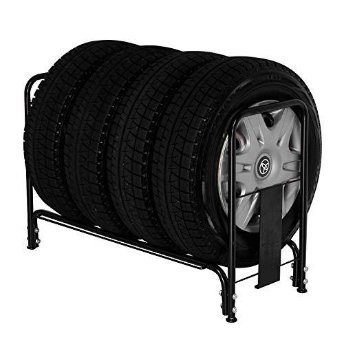 川口工器 スロープ付きタイヤラック (レギュラー)
