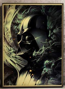 ysldtty Puzzles 1000 Teile Zusammenbau Bild Darth Vader Und Soldat Retro Classic Movie Einzigartige Sammlung Für Erwachsene Kinder Spiele Lernspielzeug B-0051