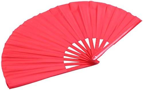 NEYOANN Bamboe structuur van Kung Fu Tai Wushu martial arts hand Fan Red