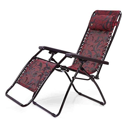 QIDI Chaise Pliante Facile à Transporter, tabourets Facile à Plier Chaise Pause-Repas Gagnez de la Place - pour Le Bureau/extérieur/intérieur - Vin Rouge Laque grillée - Rouge