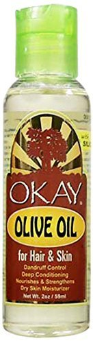 Okay Olive Oil for Hair and Skin, 2 Ounce by Okay