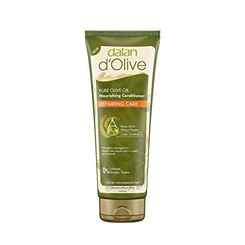 DALAN - Après-shampooing à l'huile d'olive 200 ml - Usage fréquent-Renforce léquilibre naturel du cheveux