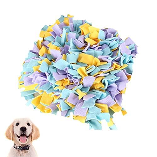Yoommd Alfombra para saltar para mascotas, puzzle para perros, juguete de inteligencia, lavable (estilo)