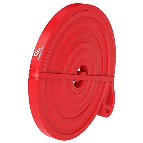 Coresteady Fitnessbänder | Klimmzug Support Band | Trainingsband für CrossFit – Powerlifting / Kraftdreikampf - Yoga – Stretching - Mobilitätstraining (ein Band pro Kauf) für Frauen und Männer