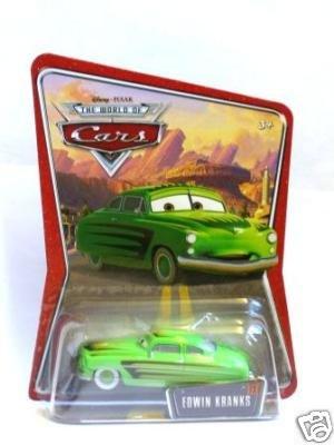 Disney World Of Cars - Edwin Kranks - Usa K-Mart Exclusive
