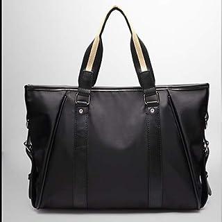 KEHUITONG Multi-function Handbag - Original Leisure Travel Bag, New Korean Men's Bag, Handbag Business Briefcase Toothbrush, comfortable electric toothbrush, easy (Color : Black)
