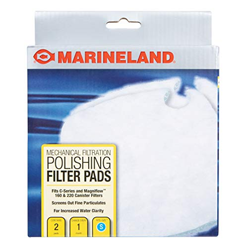 MarineLand Polishing Filter Pads, Mechanical Filtration For Canister...