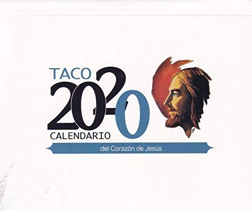 taco 2020 con Imán y notas sagrado corazón De Jesús