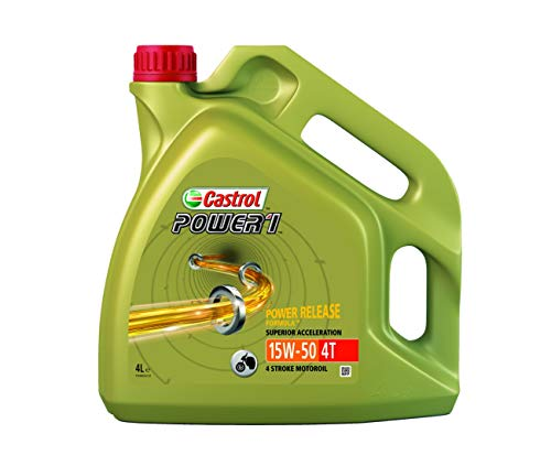 HUILE SYNTHETIC 4 TEMPS 4 LITRES 15W50 POWER 1 CASTROL-9672708