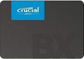 Crucial BX500 240GB CT240BX500SSD1(Z)-bis zu 540 MB/s Internes SSD (3D NAND, SATA, 2,5-Zoll)