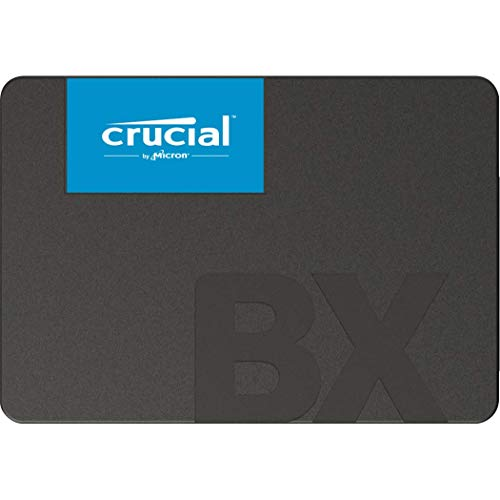 Crucial BX500 240 GB CT240BX500SSD1(Z)-Up to 540 MB/s (Internal SSD, 3D NAND, SATA, 2.5 Inch), Black