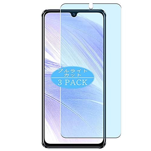 VacFun 3 Piezas Filtro Luz Azul Protector de Pantalla, compatible con ALCATEL 5X 5061, Screen Protector Película Protectora(Not Cristal Templado)