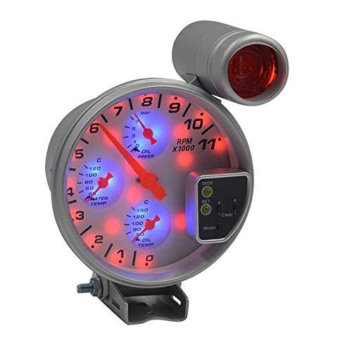 Auto Meter 3348M Sport-Compact Short Sweep Electric Oil Temperature Gauge