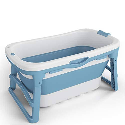 Slechte vat Folding badkuip Bijkomend bath verschillende grootte geschikt voor kinderen en volwassenen bak vouwen huishoudelijke bad vat vaten badkuip lichaamsisolatie verdikte,Blue,110cm