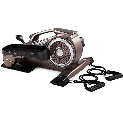 Máquina de pérdida de Peso de Piedreper Casa Equipo de Gimnasio Pequeño Ejercicio de Silencio Multifuncional Mini máquina elíptica