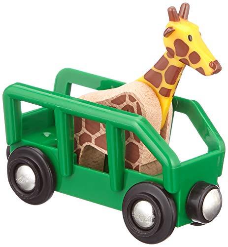 BRIO- Safari, Vagone e Animale, 33724