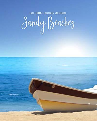 Sandy Beaches 8x10 Journal Notebook Sketchbook