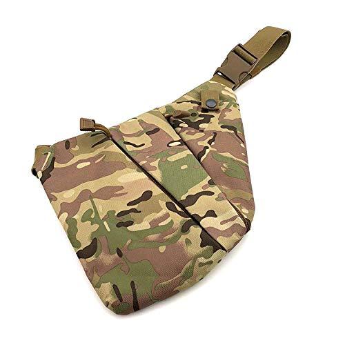 Generic Sac de Rangement Tactique Multifonctionnel, Sac Anti-vol d'épaule ajusté, Sac de Poitrine pour Homme, Sac de Taille Sport décontracté
