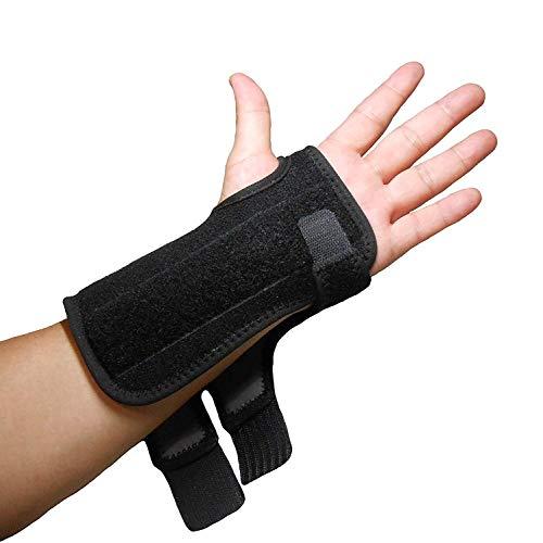 IRUFA, WS-OS-53, 3D atmungsaktiv, Abstandsgewirke, RSI-Handgelenkschiene, Unterstützung, Nachtunterstützung bei Karpaltunnelsyndrom, Sport, Verstauchungen, Arthritis und Sehnenentzündung