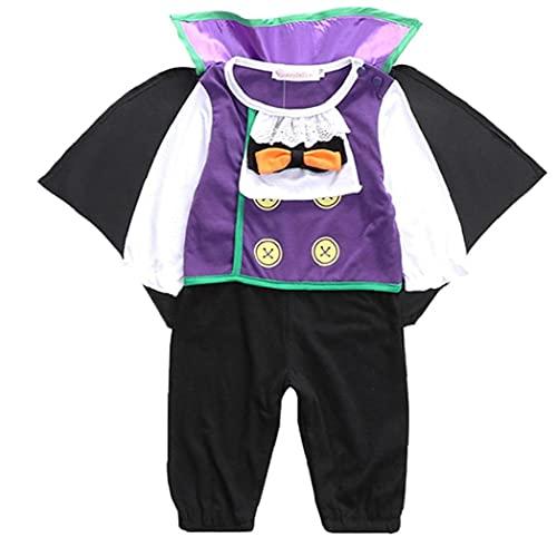 Naisicatar 1pc Traje De Halloween De Los Bebés Bebés De Los Niños del Mameluco del Bebé De Halloween Cosplay Creativo del Vampiro Diseño Trajes De Disfraces De Halloween