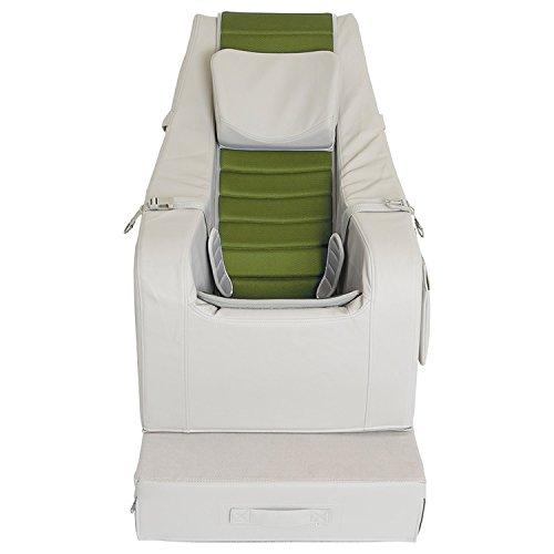 SEEDS クッションチェア 【 LLサイズ カバーシート レザー 合皮タイプ 緑 】 13才〜成人用 室内用 座位保持装置