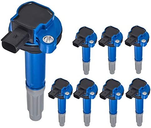 ENA Set of 8 New Orleans Mall Ignition Coil Musta Finally popular brand Pack Compatible with F-150 Ford