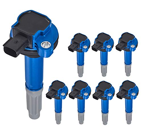 ENA Pack of 8 Ignition Coil Compatible with 2011-2015 Ford F-150 Mustang 5.0L V8 UF622