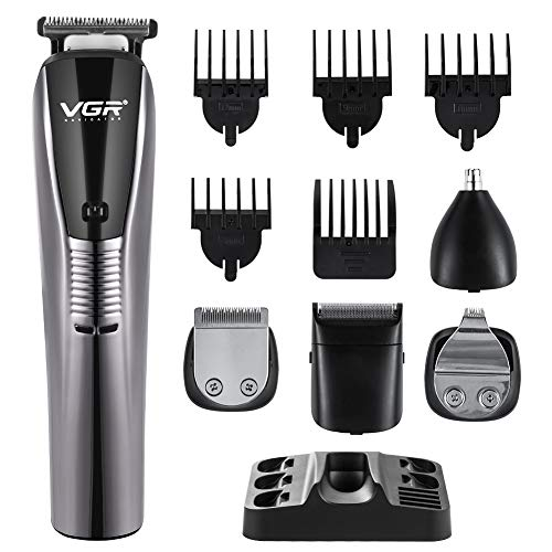 Themoemoe Mens Hair Clippers, Hair Clippers for Men Professional Kit for Head 6 in 1 Low Noise&Rechargeable