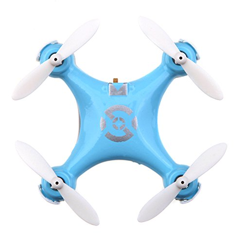 Cheerson CX-10 Mini 2.4G 4CH 6 Axis LED RC Quadcopter Toy Blue