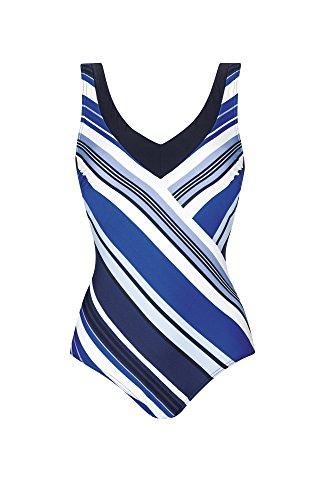 Sunflair Damen Badeanzug 1/2 Corsage 22471, blau (26), 40C