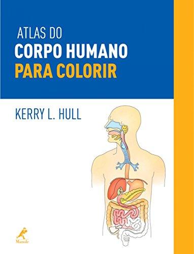 Atlas do corpo humano para colorir