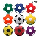 OuMuaMua 9pcs Foosball Table Balls 1.42...