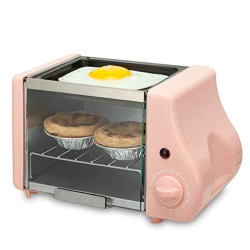 KAUTO Mini Horno eléctrico, Cocina de sobremesa con vitrocerámica y Parrilla, abatir...
