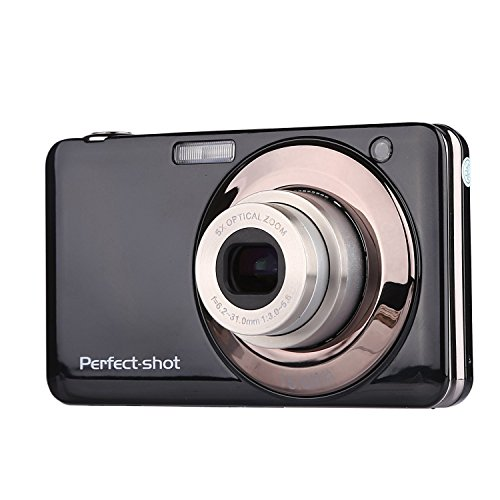 Powpro PP-V600 2.7 Inch TFT 5X Optical 15MP 1280x720 HD Anti-shake Smile Capture Digital Video Camera