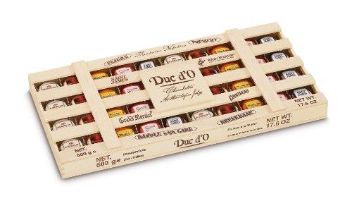 Duc d'O Likörpralinen in der Holzkiste, 1er Pack (1 x 500 g)