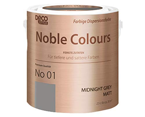 DECO STYLE Noble Colours 2,5-Liter-Eimer (midnight grey)