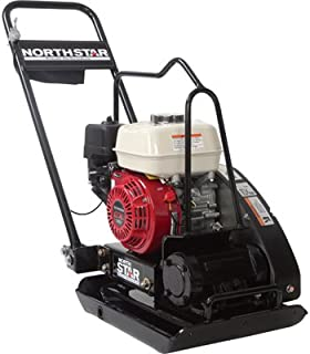 NorthStar Close-Quarters Plate Compactor -with 5.5 HP Honda GX160 Engine