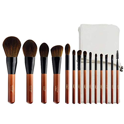 YYF Lot de 14 pinceaux de maquillage professionnels confortables