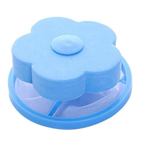 1St. Waschmaschine Filterreiniger Netzfilterbeutel Waschmaschine Epilierer Reinigung Netzbeutel Reinigung Ball Haarbeutel